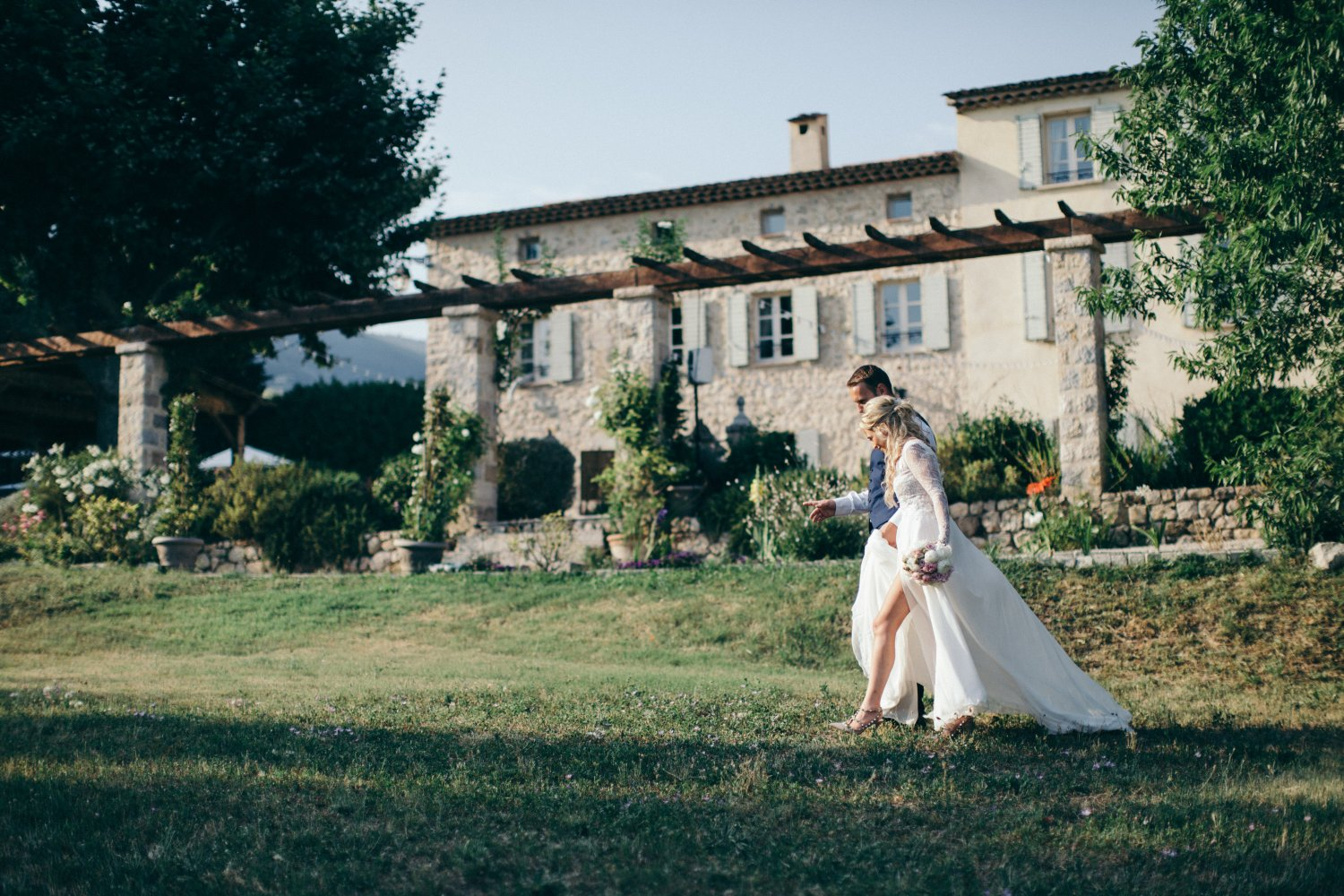 Wedding in a traditional bastide