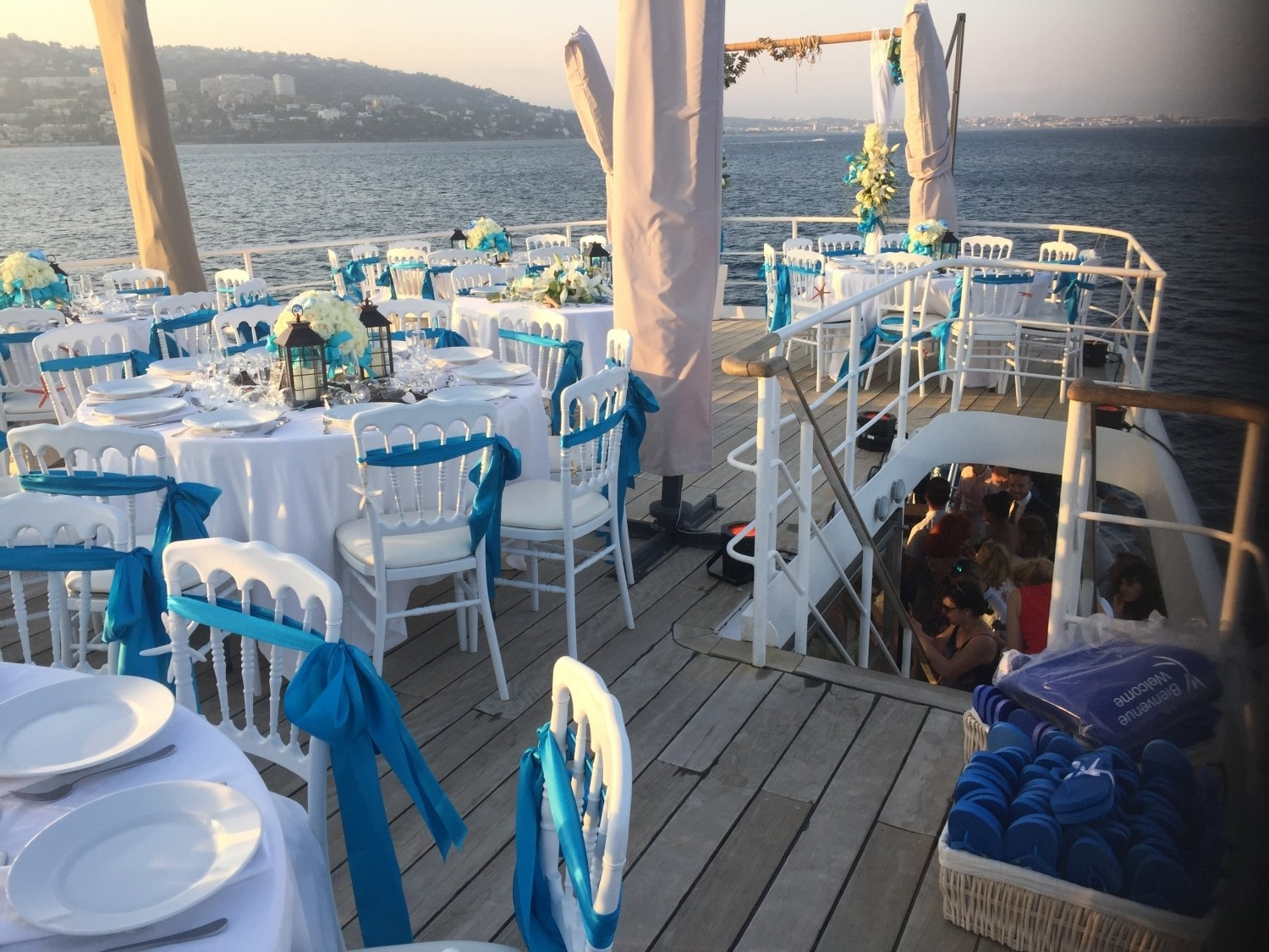 The perfect yacht for your wedding celebration